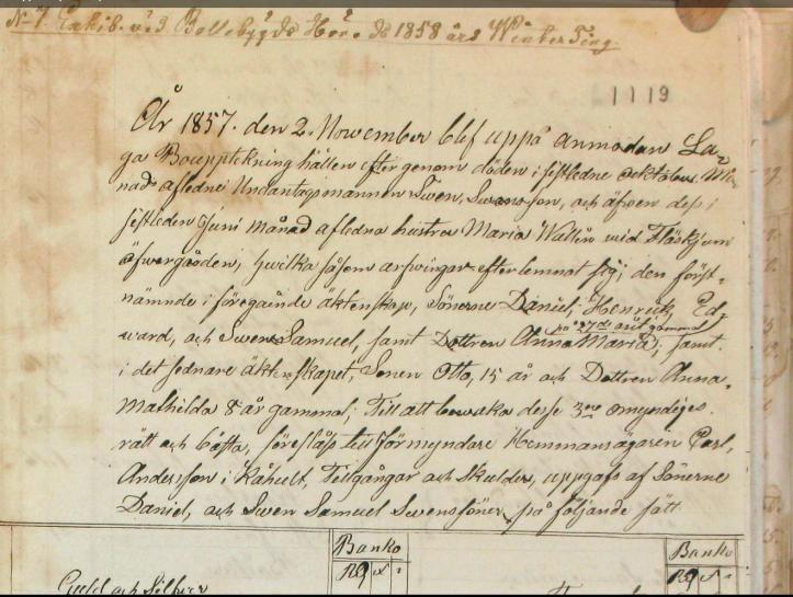 Skifte 1857-3