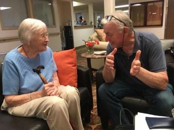 Den 101-årige Elsie Peterson