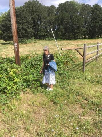 Maria fandt modne Brombær