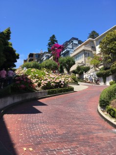 Lombard Street - without cars