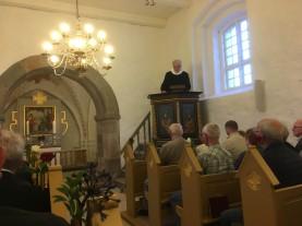 Mindegudstjeneste Oue kirke 30 august 2019