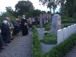 Oue kirkegård mindestund