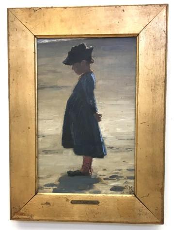 Den lille pige - PS Krøyer