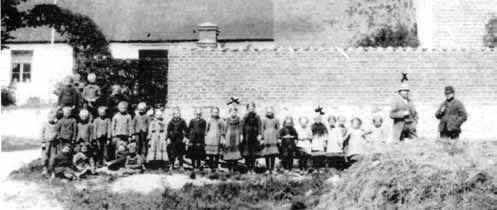 Lærer Rasmussen 29 elever Hejninge gamle skole