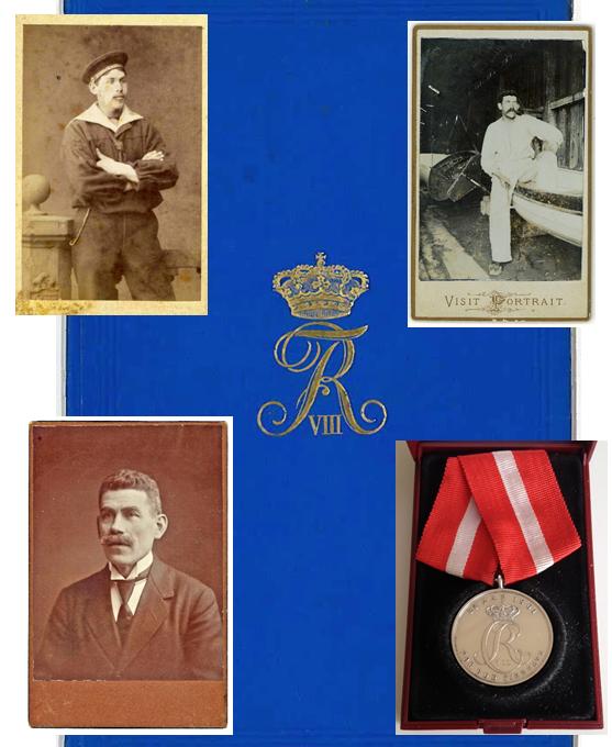 Villiams medalje for 25 års tjemeste