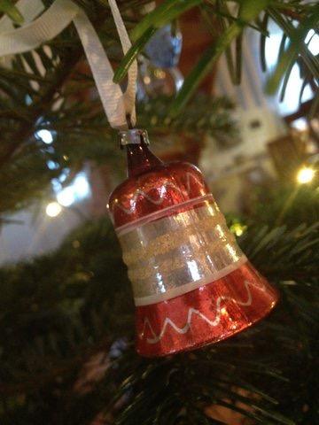 Klokke - julepynt fra Asta og Emry