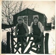 Januar vinter 1955