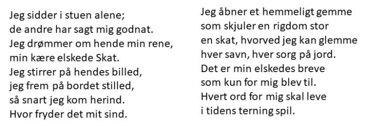 Poem brevene