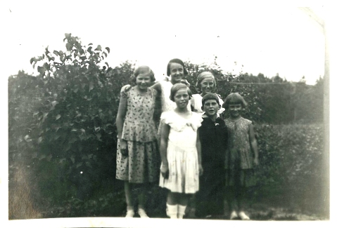 Kirsten, Elly, Eva, Ruth, William, Grethe