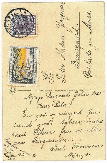 Julen 1925 - Poul Thomsen, Risgård
