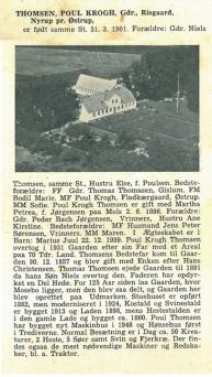 Risgaard Poul Thomsen fra Vort Sogn i 100 år