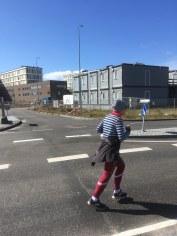 Suser forbi det nye Gødstrup Superhospital