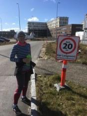 Halvmarathon fuldført - max 20 km/h