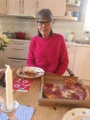 En velfortjent lækker pizza