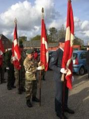 Flag procession
