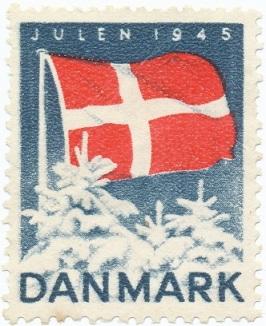 Julemærket 1945 Befrielsen