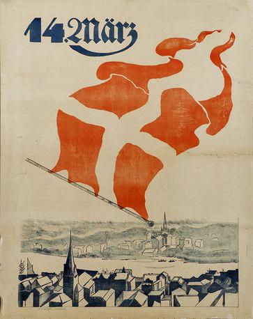Afstemningsplakat 1920