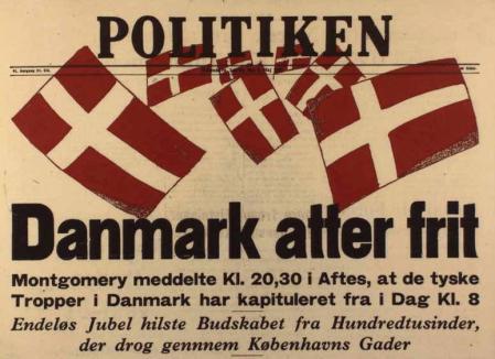 Danmark atter frit 1945