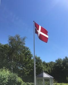 Dannebrog på Engbjerg