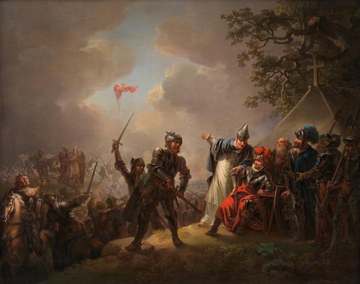 Christian August Lorentzen fra 1809: Slaget ved Lyndanisse