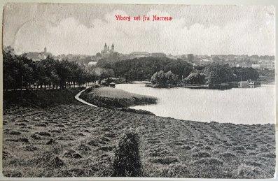 Udsigt mod Borgvold ca 1900