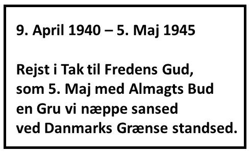 5 maj sten Gjellerup