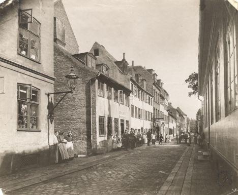 Amagergade 1899 kbh-museum