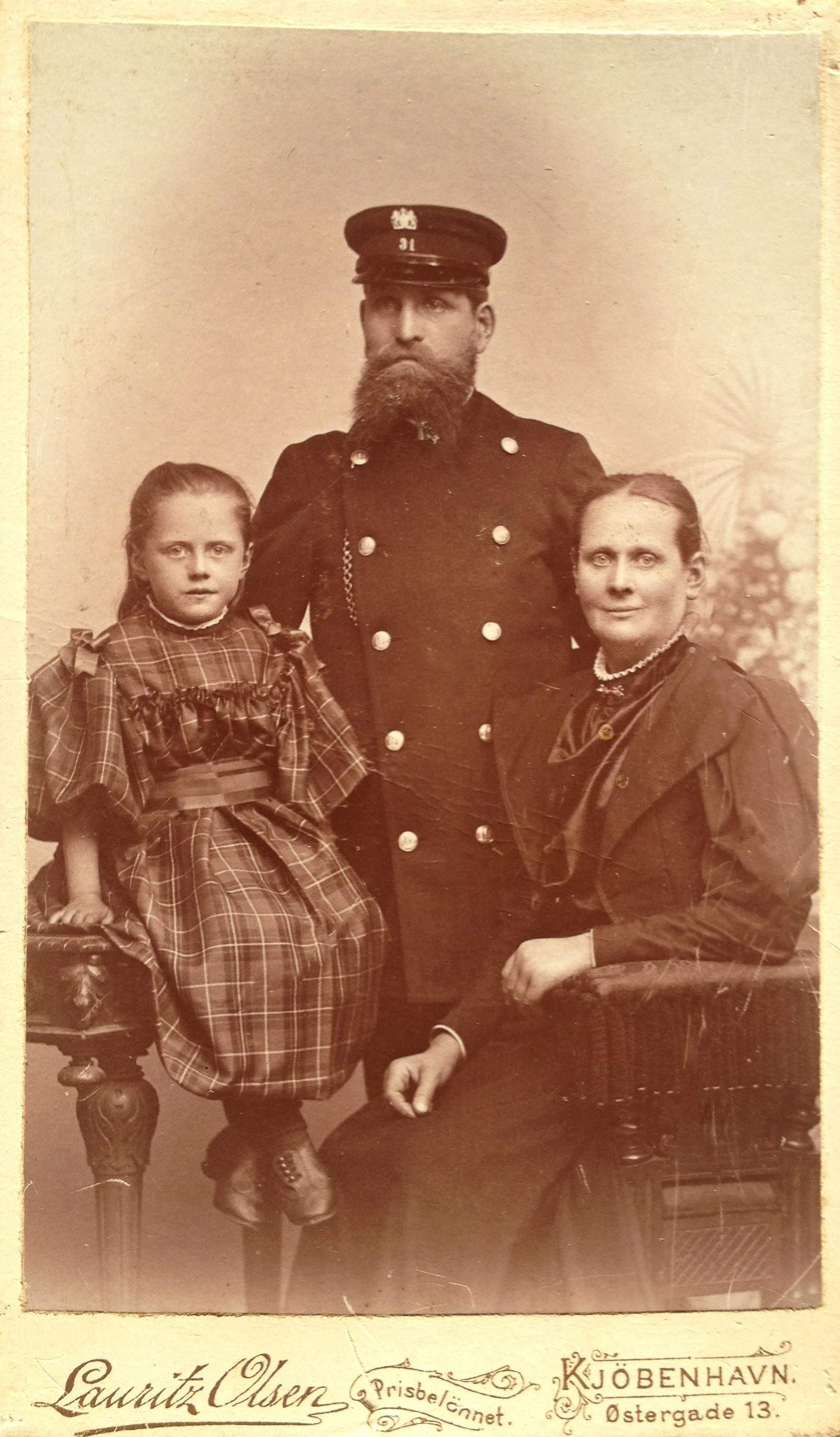 Andersen familie ca 1894