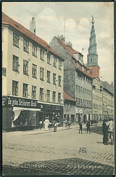 Prinsessegade IndenforVoldene ca 1900