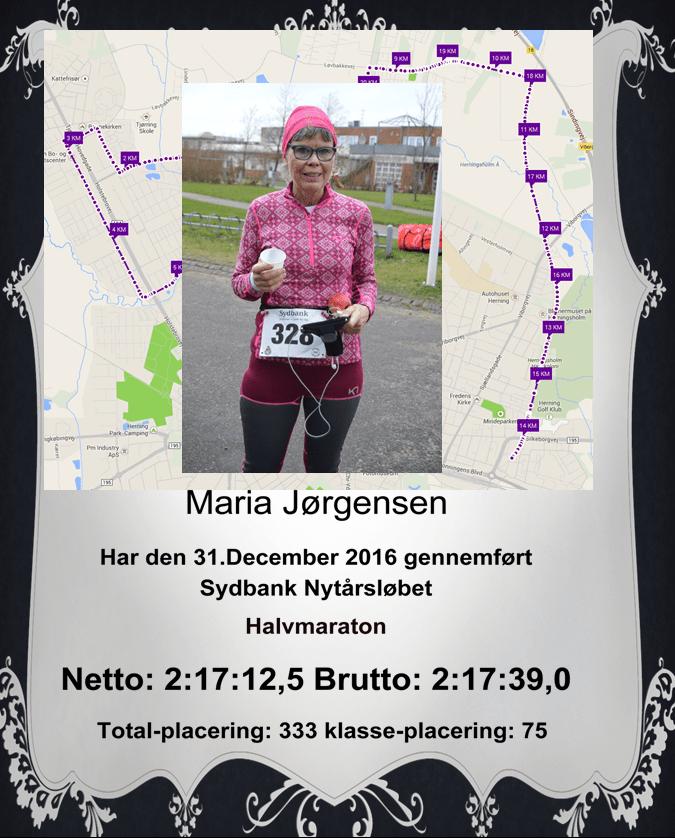Diplom Maria Nytår 2016