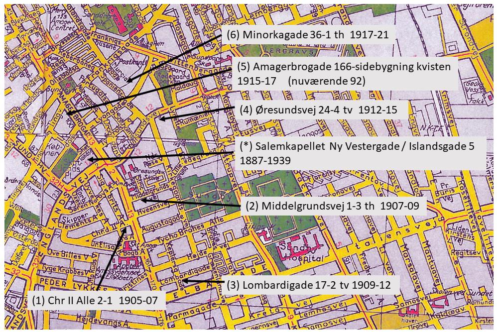 Map Amager Niels og Anna