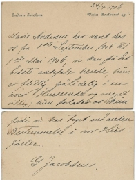 Marie Magdalene - Anbefaling 1906 Gudrun Jacobsen