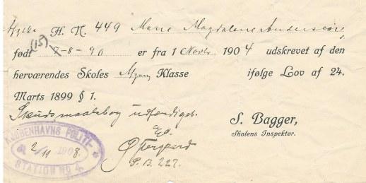 Marie_magdalene afgang skole 1904-1