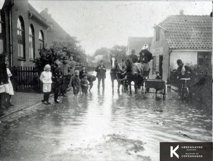 Salemkapellet 1905 - oversvømmelse