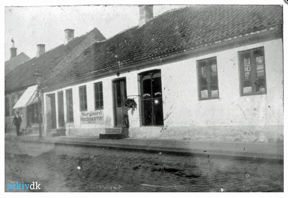 Skomager Soelberg butik 1910 Søndergade 9