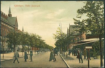 Vestre-boulevard 1909