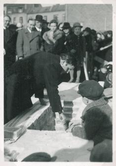 Nedlæggelse af grundstenen til Købnerkirken