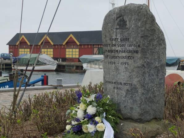 Mindesmærke for omkomne søfolk 1939-1940
